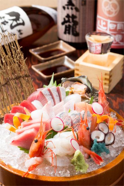 武家屋敷跡観光の後は金沢の居酒屋で地元の海鮮とお酒を楽しもう~貴重なのどぐろもご用意~